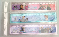 Wholesale Fashion Frozen sofia cartoon plastic office rulers box lovelty stationery christmas School gift Ruler
