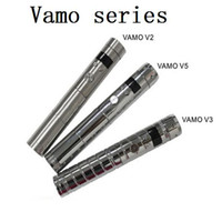 18650 battery Lcd display screen variable voltage 3v-6v Vamo V2 Vamo V3 vamo V4 vamo V5 mechanical mods e cigarette improved vv350 vv650 lava tube e-cigarette vamo mod Electronic Cigarette