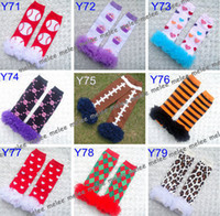 Wholesale hot sale new baby gilrs chevron ruffle leg warmers infant boys leopard zebra owl tutu leg warmers style choose free pairs Melee