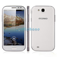 HTM 5.0 Android HTM H9500 S4 1G 4G 5 inch IPS MTK6589 Quad core Android 4.2 3G WCDMA GPS Bluetooth Free leather case