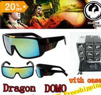 Wholesale 2014 Newest brand Dragon Domo sport Sunglasses men Fashion sun glasses gafas oculos de sol colors AAA quality with package