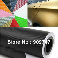 Wholesale New CM CM Car D Ultrathin carbon fiber sticker carbon fiber paper car stickers accessories