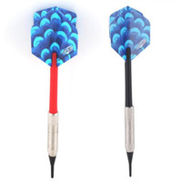 Wholesale 10PCS Color Plastic Detach Darts Needle Play Dart Steel Brass Throwing Tip Toy