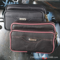 Men mobile phone market - Supply market selling small leather purses supply belts Mobile phone sets leather bag