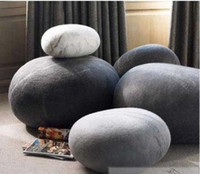 Wholesale set Living stones pillow Cobblestone Fashion Pillow Pet Household Gift stones pillow