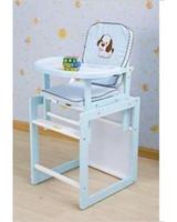 Wholesale Multifunctional baby cy120 solid wood dining chair three color safety belt GOODBABY