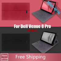 Wholesale Sikai New Good Quality Leather Case Protective Cover Shell For inch Windows System tablet pc Dell Venue pro