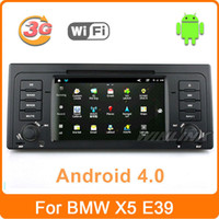 Wholesale Car DVD GPS For BMW E39 X5 M5 E53 With Android G WiFi Navigation Stereo Radio Bluetooth Phone IPOD TV