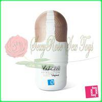 Al por mayor - Wet Vagina con vibración, taza de la masturbación masculina, coño y la boca, silicona muñeca verdadera del sexo