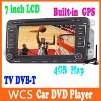 Wholesale 7 Inch Car Radio CD DVD MP3 Player GPS Bluetooth Ipod F VW Golf Jetta Polo Caddy Polo Touran