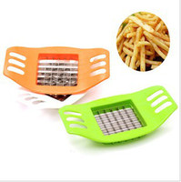 Potato Mashers & Ricers Metal ECO Friendly Hot sale Stainless Steel Cutter Potato Chip Vegetable Slicer Tools Free Shipping drop ship #H0154
