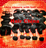 "Malaysian Hair Body Wave 12''-30'' Free Shipping12""-30""inch,3pcs Hair Weft Bundle With Closure,4pcs lot,Cheap Brazilian Virgin Human Hair Weave Extension Body Wave"