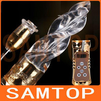 G-Spot Vibrators elephant sex - Rabbit Vibrator Rotating G spot Elephant Jelly Bead Sex Products Toys for women