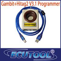 Volt Meters w Gambit+Hitag2 V3.1 Programmer 2014 HOTTEST 2 in 1 Gambit+Hitag2 V3.1 Programmer Auto Key Programmer RFID transponder programming for VW Ford Mercedes Seat