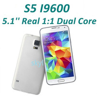 Wholesale 1 S5 i9600 Goophone inch MTK6572 Dual Core Android Quad Band WCDMA Camera WiFi G Unlocked Smart Mobile Cell Phone hot sale