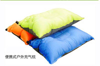 Wholesale Outdoor Camp Moisture proof Pad Sleep Mattress Automatic Inflatable Cushion Air Pillow Mats CM