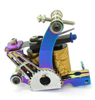 custom tattoo machines - 7616 New Multi Color PRO Tattoo Machine Custom tattoo Guns Dual Wrap Coils Liner or Shader tattoo tube grips