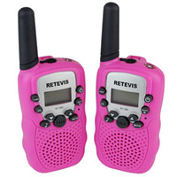 Toy Walkie Talkie big lcd display - Retevis RT Toy Walkie Talkie Kids Interphone UHF MHz W CH LCD Display Flashlight Two Way Radio A7027E