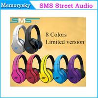 Bon Marché Rue sms via un casque d'oreille-Édition limitée SMS Audio Street by 50 Cent Sur-Oreille Casque Filaire 002142