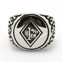 Band Rings biker rings - New Designer Cool Flaming Polishing Biker Ring Silver Mens Boys L Stainless Steel Ring Factory Price