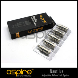 Wholesale - Aspire Nautilus Coils Bottom 1.8ohm Dual  Vertical Coils replacement coil for Aspire Nautilus Atomizer