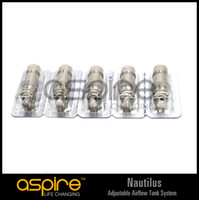 1.6ohm/1.8ohm CE RoHS Electronic Cigarette Wholesale - aspire replacement Coil for Aspire Nautilus adjustable airflow tank system replacement atomizer for nautilus replacement atomize