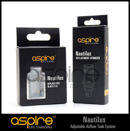 Wholesale - aspire replacement atomizer coil head for Aspire Nautilus airflow control Clearomizer nautilus replacement coil 1.8ohm factory