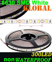 Wholesale Warm white LED Strip SMD M cool White pure white Lights Flexible NONwaterproof Super Bright M LEDs V by DHL meter