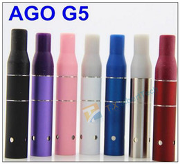 AGO G5 Herbal Vapor Atomizer for dry herb vaporizer pen vapor cigarettes ago G5 Pen Style Ecig for Cut tobcco wax dry herb
