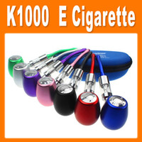Cheap Black K1000 E pipe Best Electronic Cigarette Set Series E pipe E Cigarette