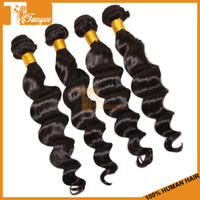 Brazilian Hair Loose Wave Remy Hair, Virgin Hair Cheap Brazilian Hair Weaves Loose Wave 3 or 4 bundles Lot Unprocessed Virgin Brazilian Human Hair Extensions Wavy Remy Hair Weft Can Dye