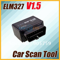 Wholesale New Bluetooth ELM327 Car Scan Tool OBD Fault Scan Diagnostic Tool V1