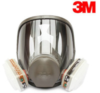 Work   3M 6800 full facepiece reusable respirator filter protection masks anti-organic and gas R82032