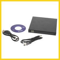 Wholesale 5pcs USB DVD CD DVD Rom SATA External Case Slim For Laptop Notebook