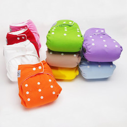 Wholesale 10 Adjustable Reusable Washable Baby Cloth Diaper Nappy inserts