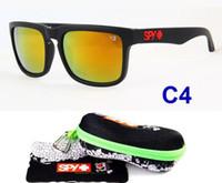 Wholesale Hot Coating Ken Block Sunglasses Women Sport Mirrored Glasses Men Colors oculos de sol With Peanut Shape Box