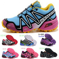 2014 Cheap Women's Zapatillas Salomon Speedcross 3 Running S...