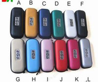 Wholesale OEM EGO bag XL size eGo zipper case mm mm mm colors good quality E Cigar bag ego for battery atomizer DHL