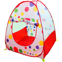 Tents Classic Polyester Children Kids Play Tent toy game house baby beach tent indoor & outdoor tent