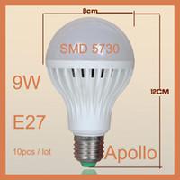 Wholesale High Power LED Globe Bulb Lamp Light W High Brightness E27 B22 GU10 Led Bulbs Globe SMD LED Ball Lamp Lighting Led Globe Spotlight