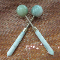 Wholesale MINI Jade Massage Hammer Handicraft Relax Massager Health Care Tools Premiums Gift SH352