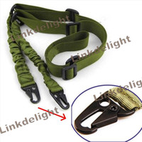 Wholesale New Black Sand Green Deluxe Tactical Two Point Rifle Sling Use on Rifles Shotguns Remington Mossberg Long gun Rifle Shotgun sling strap