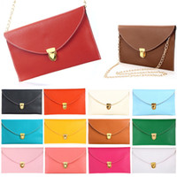 Wholesale Cheap Designer Handbags Fashion Lady Women Envelope Clutch Chain Purse Handbag Shoulder Tote Messenger Bag H9293