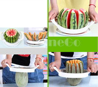 Wholesale Fruits Vegetable Tools Watermelon Hami Melon Slicer Cutter Splitter Corer With Retail Box EMS Freeshipping ONLY