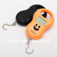 Disposable Oval Other Wholesale - 10G-50KG Digital Luggage Fishing Weight Scale Gourd Shape free shipping#3257