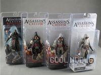 Finished Goods hot toys figure - Hot NECA ASSASSIN S CREED II EZIO ACTION FIGURE WHITE Assassin s Creed II quot PVC Figure toys Styles novelty toys children Gift