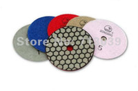 Wholesale GM inch mm Dry Polishing Pads granite and marble or Honeycomb Flexible polishing pads