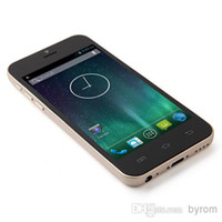 Wholesale Best Gold i5S MTK6572 Dual Core Android WCDMA G Unlocked Phone inch G RAM GB MP white Silver