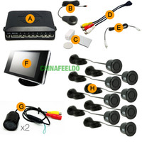 Wholesale Good quality Car Sensors Front Rear Dual View Parking Sensor Backup Radar System Monitor mm Camera