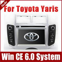 2 DIN auto nav - Car DVD Player for Toyota Yaris with GPS Navigation Radio TV Bluetooth USB SD AUX Map Auto Audio Video Stereo Sat Nav